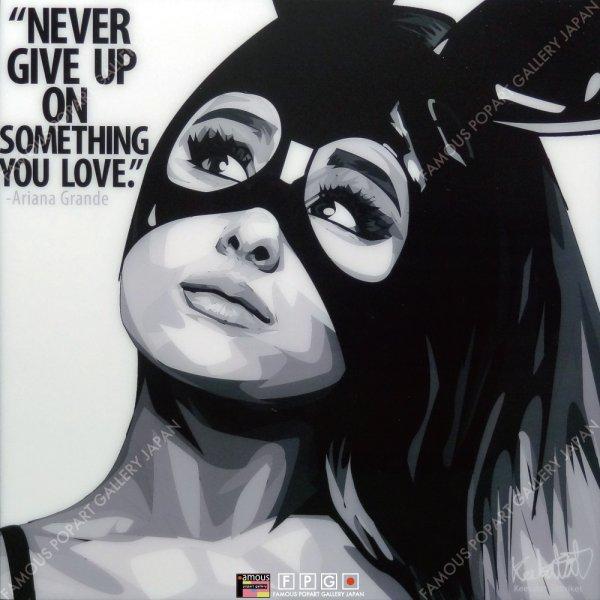 画像2: Ariana Grande / アリアナ・グランデ [ポップアートパネル / Keetatat Sitthiket / Sサイズ / Mサイズ]
