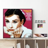 Audrey Hepburn / オードリー・ヘプバーン [ポップアートパネル / Keetatat Sitthiket / Sサイズ / Mサイズ]