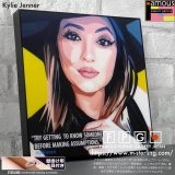 Kylie Jenner / カイリー・ジェンナー [ポップアートパネル / Keetatat Sitthiket / Sサイズ / Mサイズ]