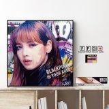 LISA -BLACKPINK- / リサ -ブラックピンク- [ポップアートパネル / Keetatat Sitthiket / Sサイズ / Mサイズ]