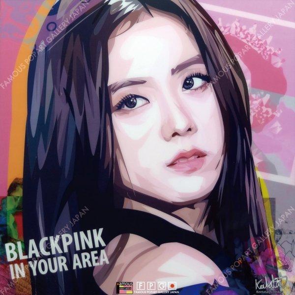 画像2: JISOO -BLACKPINK- / ジス -ブラックピンク- [ポップアートパネル / Keetatat Sitthiket / Sサイズ / Mサイズ]