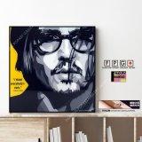 Johnny Depp / ジョニー・デップ [ポップアートパネル / Keetatat Sitthiket / Sサイズ / Mサイズ]
