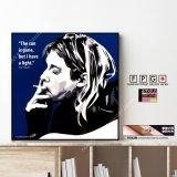 Kurt Cobain(Nirvana) / カート・コバーン(ニルヴァーナ) [ポップアートパネル / Keetatat Sitthiket / Sサイズ / Mサイズ]