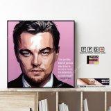 Leonardo Di Caprio / レオナルド・ディカプリオ [ポップアートパネル / Keetatat Sitthiket / Sサイズ / Mサイズ]