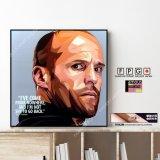 Jason Statham / ジェイソン・ステイサム [ポップアートパネル / Keetatat Sitthiket / Sサイズ / Mサイズ]