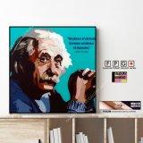Albert Einstein -BLUE- / アルベルト・アインシュタイン [ポップアートパネル / Keetatat Sitthiket / Sサイズ / Mサイズ]