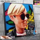 Andy Warhol -BANANA- / アンディ・ウォーホル [ポップアートパネル / Keetatat Sitthiket / Sサイズ / Mサイズ]