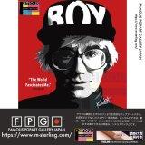 Andy Warhol -RED- / アンディ・ウォーホル [ポップアートパネル / Keetatat Sitthiket / Sサイズ / Mサイズ]