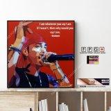 Eminem -Ver.RED- / エミネム [ポップアートパネル / Keetatat Sitthiket / Sサイズ / Mサイズ]