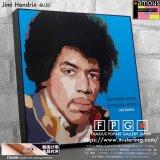 Jimi Hendrix -BLUE-  / ジミ・ヘンドリックス [ポップアートパネル / Keetatat Sitthiket / Sサイズ / Mサイズ]