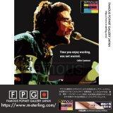 John  Lennon -TIME YOU- / ジョン・レノン [ポップアートパネル / Keetatat Sitthiket / Sサイズ / Mサイズ]
