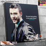 Justin Timberlake -Ver1BLACK- / ジャスティン・ティンバーレイク [ポップアートパネル / Keetatat Sitthiket / Sサイズ / Mサイズ]
