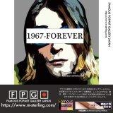 Kurt Cobain -Ver.1967 FOREVER-  / カート・コバーン [ポップアートパネル / Keetatat Sitthiket / Sサイズ / Mサイズ]