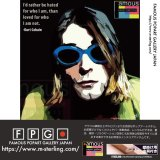Kurt Cobain -SUNGLASSES- / カート・コバーン [ポップアートパネル / Keetatat Sitthiket / Sサイズ / Mサイズ]