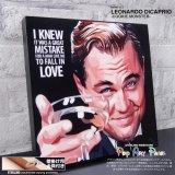 LEONARDO DiCAPRIO-VER2- / レオナルド・ディカプリオ [ポップアートパネル / Keetatat Sitthiket / Sサイズ / Mサイズ]