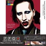 Marilyn Manson / マリリン・マンソン [ポップアートパネル / Keetatat Sitthiket / Sサイズ / Mサイズ]