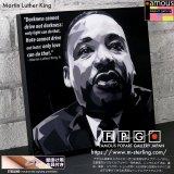 Martin Luther King / マーティン・ルーサー・キング [ポップアートパネル / Keetatat Sitthiket / Sサイズ / Mサイズ]
