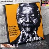 Nelson Mandela / ネルソン・マンデラ [ポップアートパネル / Keetatat Sitthiket / Sサイズ / Mサイズ]