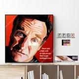 Robin Williams / ロビン・ウィリアムズ [ポップアートパネル / Keetatat Sitthiket / Sサイズ / Mサイズ]