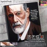 Sigmund Freud / ジークムント・フロイト [ポップアートパネル / Keetatat Sitthiket / Sサイズ / Mサイズ]