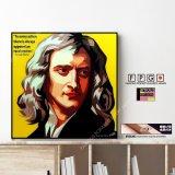 Sir Isaac Newton / アイザック・ニュートン [ポップアートパネル / Keetatat Sitthiket / Sサイズ / Mサイズ]