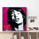 Sir Mick Jagger / ミック・ジャガー [ポップアートパネル / Keetatat Sitthiket / Sサイズ / Mサイズ]