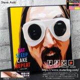 Steve Aoki / スティーヴ・アオキ [ポップアートパネル / Keetatat Sitthiket / Sサイズ / Mサイズ]