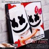 ALL YOU NEED IS LOVE / DJ.MARSHMELLO / DJ マシュメロ [ポップアートパネル / Keetatat Sitthiket / Sサイズ / Mサイズ]
