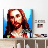 JESUS / ジーザス イエス キリスト [ポップアートパネル / Keetatat Sitthiket / Sサイズ / Mサイズ]