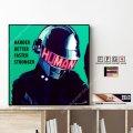 Thomas Bangalter - Daft Punk - / トーマ・バンガルテル - ダフトパンク - [ポップアートパネル / Keetatat Sitthiket / Sサイズ / Mサイズ]