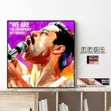 Freddie Mercury -Queen- / フレディマーキュリー -クイーン- [ポップアートパネル / Keetatat Sitthiket / Sサイズ / Mサイズ]