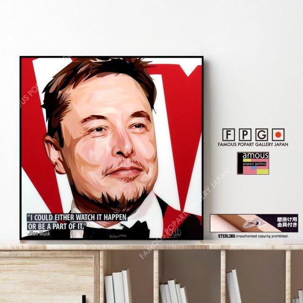 画像1: Elon Musk / イーロン・マスク [ポップアートパネル / Keetatat Sitthiket / Sサイズ / Mサイズ]