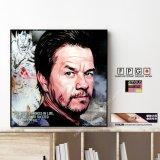 Mark Wahlberg / マーク ウォールバーグ [ポップアートパネル / Keetatat Sitthiket / Sサイズ / Mサイズ]