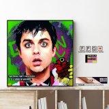 Billie Joe Armstrong -Green Day- / ビリー ジョー アームストロング -グリーン デイ- [ポップアートパネル / Keetatat Sitthiket / Sサイズ / Mサイズ]