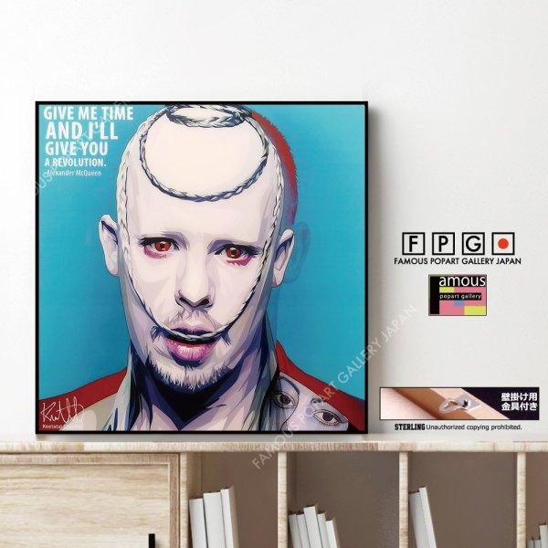 画像1: Alexander McQueen / アレキサンダー マックイーン [ポップアートパネル / Keetatat Sitthiket / Sサイズ / Mサイズ]