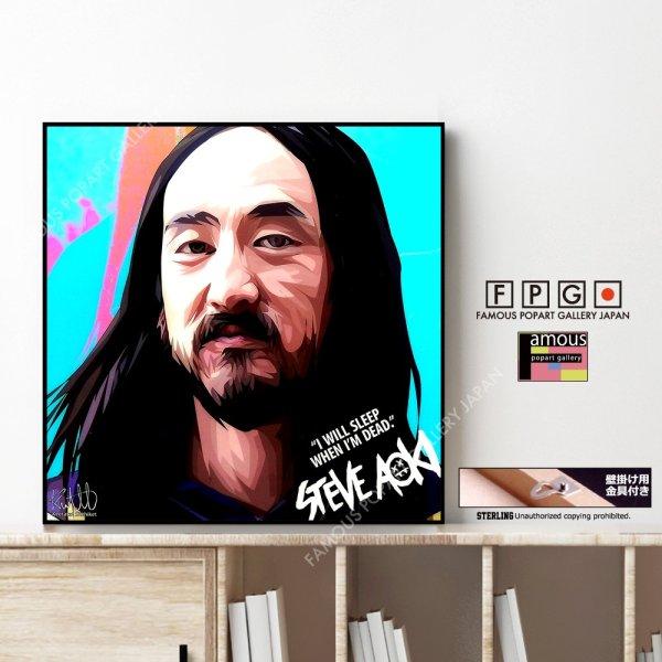 画像1: STEVE AOKI / スティーヴ アオキ [ポップアートパネル / Keetatat Sitthiket / Sサイズ / Mサイズ]