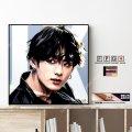 JUNG KOOK - BTS - / ジョングク -防弾少年団- [ポップアートパネル / Keetatat Sitthiket / Sサイズ / Mサイズ]