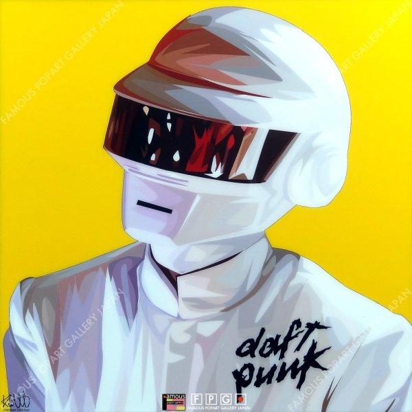 画像2: Thomas Bangalter Ver.2 - Daft Punk - / トーマ・バンガルテル - ダフトパンク - [ポップアートパネル / Keetatat Sitthiket / Sサイズ / Mサイズ]