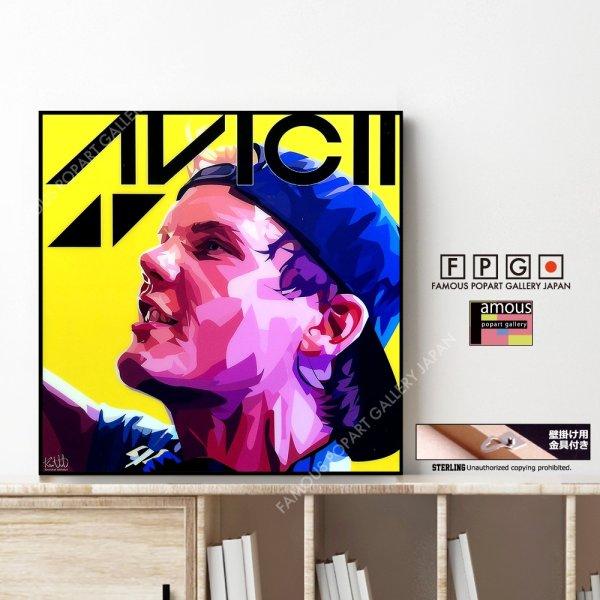 画像1: AVICII (remake) / アビーチー [ポップアートパネル / Keetatat Sitthiket / Sサイズ / Mサイズ]