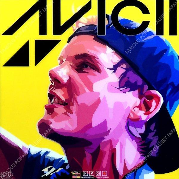 画像2: AVICII (remake) / アビーチー [ポップアートパネル / Keetatat Sitthiket / Sサイズ / Mサイズ]