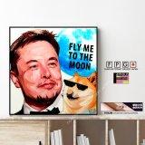 Elon Musk Ver.2 / イーロン・マスク [ポップアートパネル / Keetatat Sitthiket / Sサイズ / Mサイズ]