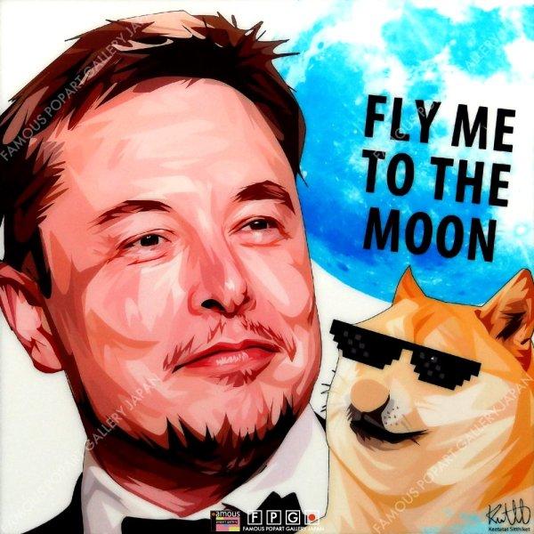 画像2: Elon Musk Ver.2 / イーロン・マスク [ポップアートパネル / Keetatat Sitthiket / Sサイズ / Mサイズ]