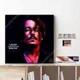 Johnny Depp Ver.2 / ジョニー・デップ [ポップアートパネル / Keetatat Sitthiket / Sサイズ / Mサイズ]