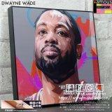 DWAYNE WADE / ドウェイン・ウェイド [ポップアートパネル / Keetatat Sitthiket / Sサイズ / Mサイズ]