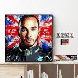 Lewis Hamilton / ルイス・ハミルトン [ポップアートパネル / Keetatat Sitthiket / Sサイズ / Mサイズ]