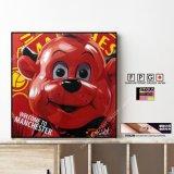 Fred the Red / フレッド・ザ・レッド [ポップアートパネル / Keetatat Sitthiket / Sサイズ / Mサイズ]