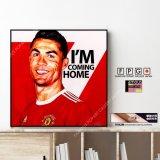 Cristiano Ronaldo / クリスティアーノ・ロナウド [ポップアートパネル / Keetatat Sitthiket / Sサイズ / Mサイズ]