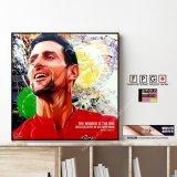 Novak Djokovic / ノバク・ジョコビッチ [ポップアートパネル / Keetatat Sitthiket / Sサイズ / Mサイズ]