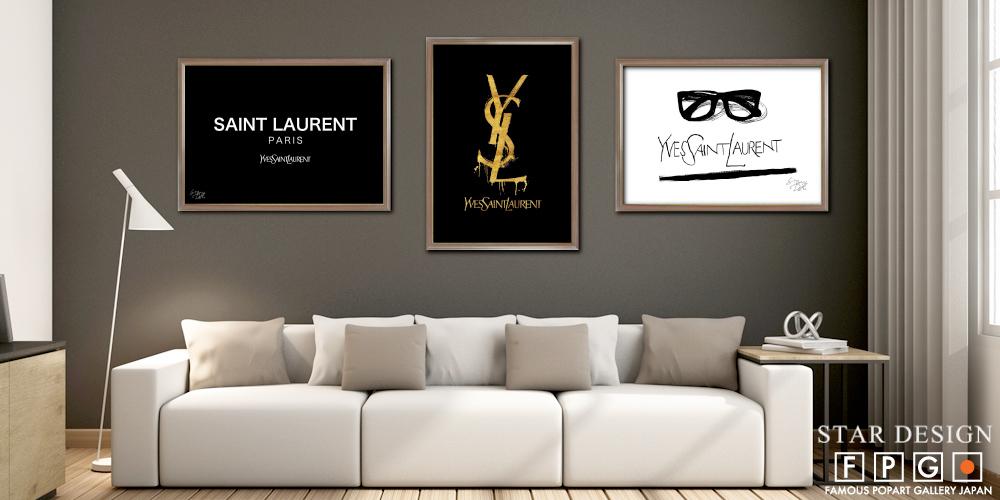 YVES SAINT LAURENT / イヴ・サンローラン モチーフ